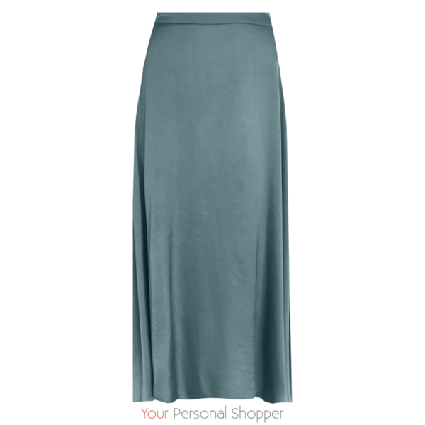 Zijde Midi rok Emerald Your personal shopper