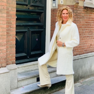 witte winterjas Your Personal shopper