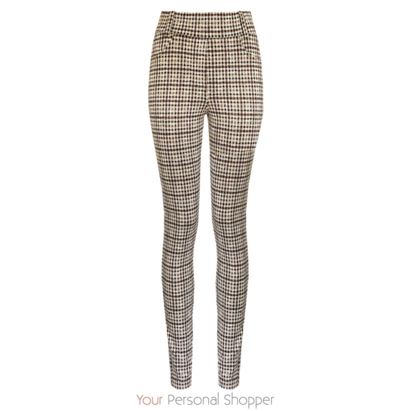 geruiten dames pantalon your personal shopper