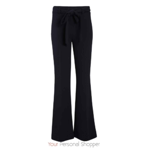 Donkerblauwe flared pantalon Your Personal shopper