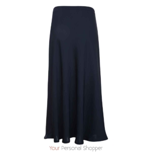Donkerblauwe maxi rok your personal shopper