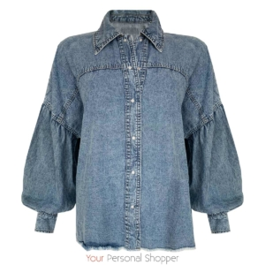 Oversized denim jasje Your Personal Shopper
