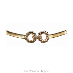gouden statement riem your personal shopper