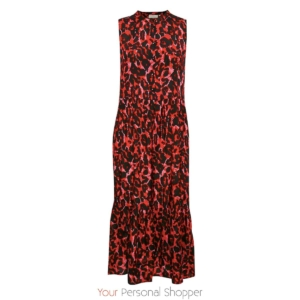 rode leopard print jurk laffe your personal shopper