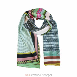 Gekleurde shawl your personal shopper