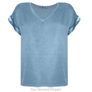 Licht blauw shirt your personal shopper
