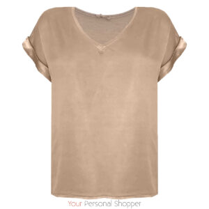 viscose shirt satijn look your personal shopper