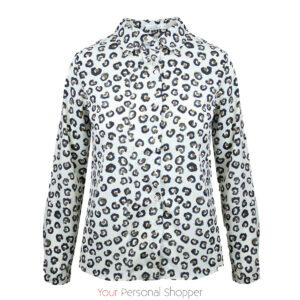 Dames blouse met panter print Your Personal Shopper