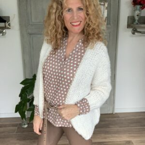 dames blouse met lange mouw en print Kaffe Your Personal Shopper