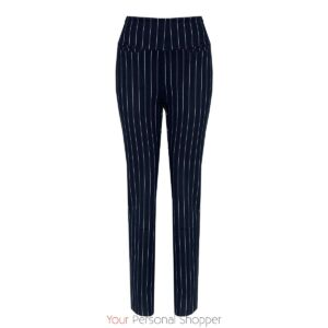 Krijtstreep dames pantalon met stretch Chiarico Your Personal Shopper