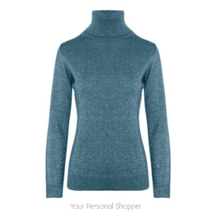 Aqua blauw dames colletje Your Personal Shopper