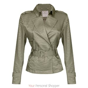 Licht groen jackje Your personal shopper