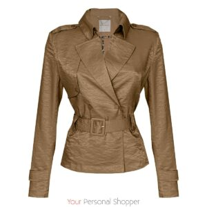 Camel dames jackje Your Personal shopper