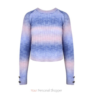 Multicolor damestrui met lange mouw Your personal shopper