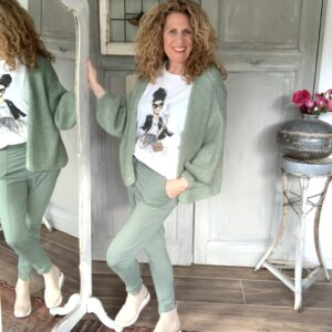 jade groene travel broek Your Personal shopper