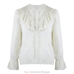 off white kanten dames blouse Your Personal Shopper