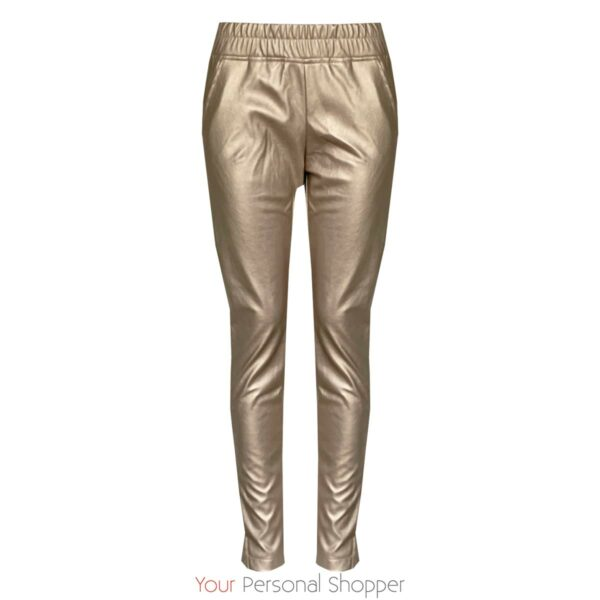Metallic chino dames broek Ambika Your Personal Shopper