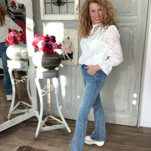 Licht flared jeans Your Personal Shopper