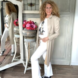witte flared dames jeans ATT your personal shopper