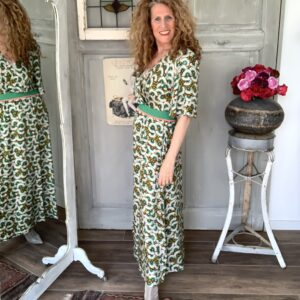 Maxi jurk met grafische print Aldo Martins Your personal shopper