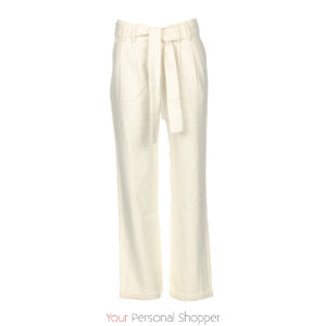 off white dames pantalon JC Sophie Your Personal Shopper