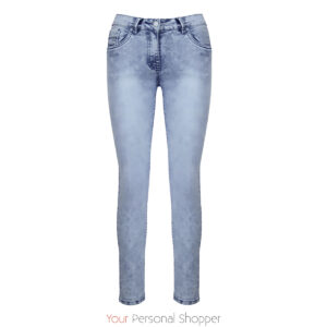 Skinny jeans dames lichtblauw toxic Your Personal shopper