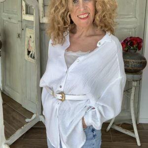 Witte oversized dames blouse your personal shopper