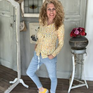 Licht blauw baggy riped jeans Your Personal Shopper
