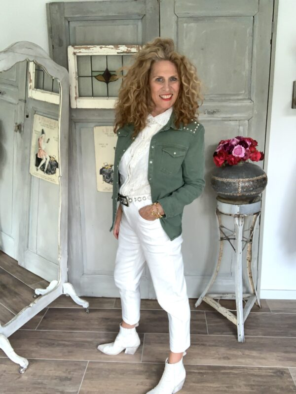 Witte zomer dames jeans Your personal shopper