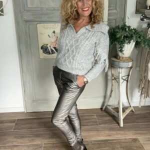 gecoate baggy dames broek taupe Your Personal Shopper